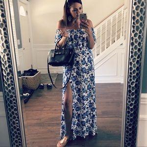 H&M Strapless Maxi Dress